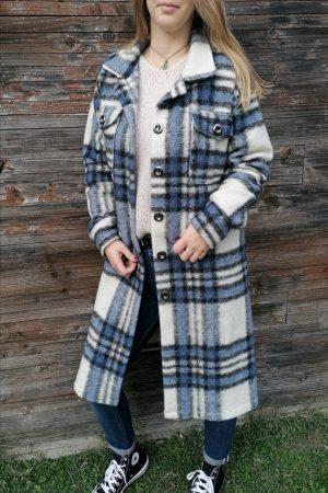 manteau laine gabriel bleu 2
