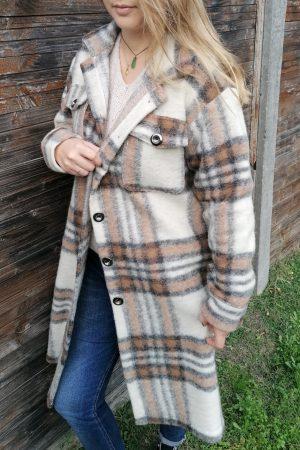 manteau laine gabriel camel