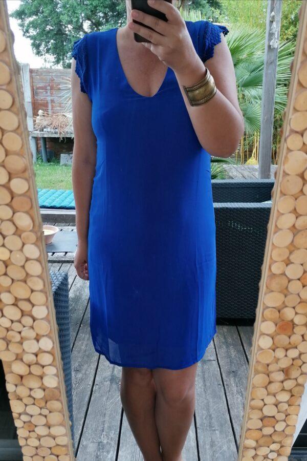 robe Luna bleue