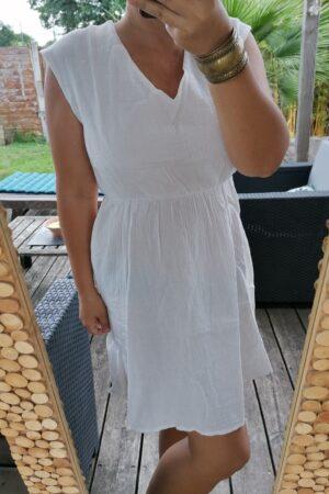 robe melodie blanche